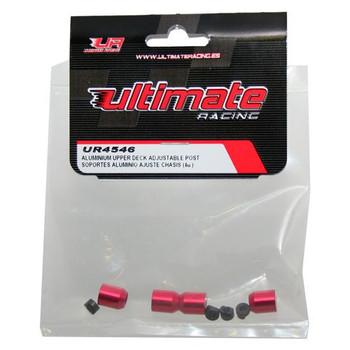 Ultimate Racing Aluminum Upper Deck Adjustable Post (4)