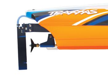 "Traxxas DCB M41 Widebody 40"" Catamaran High Performance Race Boat w/TQi 2.4GHz Radio & TSM - 2020 Orange"