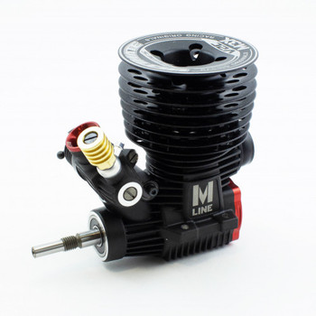 Ultimate Racing M-3X V2.0 .21 Nitro Racing Engine & 2142-F PIPE COMBO