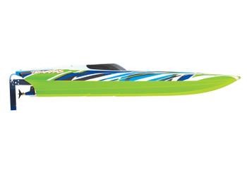 "Traxxas DCB M41 Widebody 40"" Catamaran High Performance Race Boat w/TQi 2.4GHz Radio & TSM - 2020 Green"