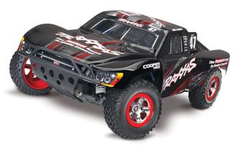 Traxxas Nitro Slash 3.3 1/10 2WD RTR SC Truck (Mike Jenkins) w/TQ 2.4GHz Radio, TSM, Battery & DC Charger