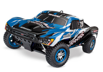 Traxxas Slayer Pro 4WD RTR Nitro Short Course Truck (Blue) w/TQi 2.4GHz Radio, TSM, EZ Start & Charger