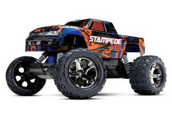 Traxxas Stampede VXL Brushless 1/10 RTR 2WD Monster Truck (Orange) w/TQi 2.4GHz Radio & TSM