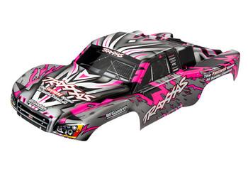 Traxxas Body, Slash 4X4/Slash, pink (painted, decals applied) (TRA5847)