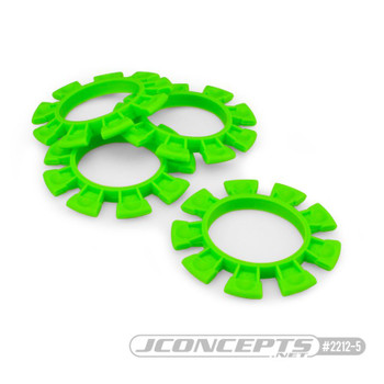 JCONCEPTS 1/8-1/10 Satellite Tire Rubber Bands - Green (JCO2212-5)