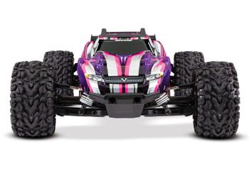 Traxxas Rustler 4X4 VXL Brushless RTR 1/10 4WD Stadium Truck (Pink)