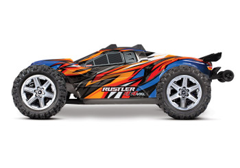 Traxxas Rustler 4X4 VXL Brushless RTR 1/10 4WD Stadium Truck (Orange)
