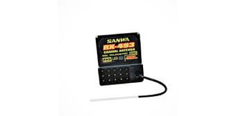 Sanwa RX-493 M17 2.4GHz 4-Channel FHSS5 SRX/SSL Receiver
