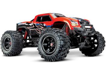 Traxxas X-Maxx 8S 4WD Brushless RTR Monster Truck (Red-X) w/2.4GHz TQi Radio & TSM