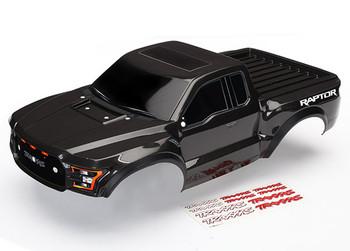 Traxxas 2017 Ford Raptor Pre-Painted Short Course Slash 2WD Body (Black)