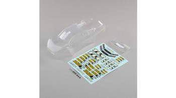 Team Losi Racing 22T 4.0 Body Set (Clear)