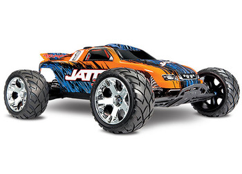 Traxxas Jato 3.3 2WD RTR Nitro Stadium Truck w/TQi (Orange) 2.4GHz, Telemetry, TSM, Easy Start & Charger