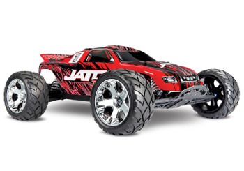 Traxxas Jato 3.3 2WD RTR Nitro Stadium Truck w/TQi (Red-X) 2.4GHz, Telemetry, TSM, Easy Start & Charger