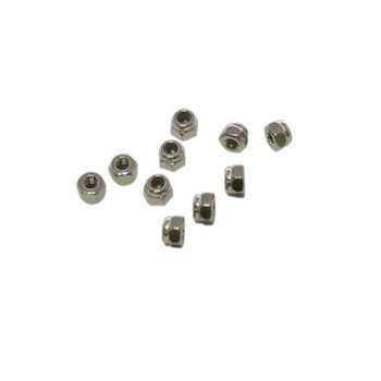 Ultimate Racing M3 Nylon Locknut Set (10 PCS)
