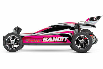 Traxxas Bandit 1/10 RTR 2WD Electric Buggy (Pink) w/XL-5 ESC & TQ 2.4GHz Radio w/battery and DC charger