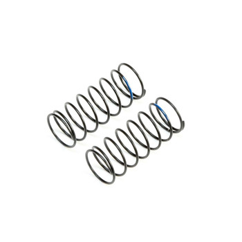 Team Losi Racing 12mm Low Frequency Front Springs (Blue) (2)