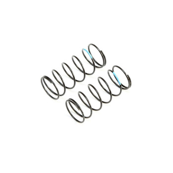 Team Losi Racing 12mm Low Frequency Front Springs (Sky Blue) (2)