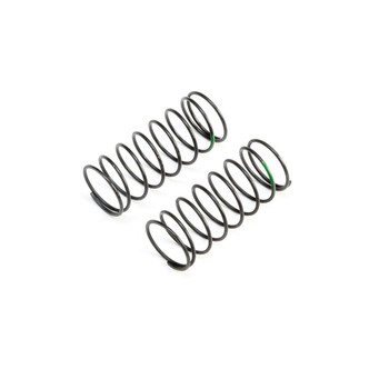 Team Losi Racing 12mm Low Frequency Front Springs (Green) (2)