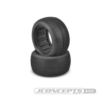 "JConcepts Sprinter 2.2"" Rear Buggy Dirt Oval Tires (2) (Blue)"