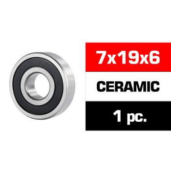 "Ultimate Racing 14X25.8X6MM CERAMIC ""HS"" REAR ENGINE BEARING (UR, NOVA) (1PC)"