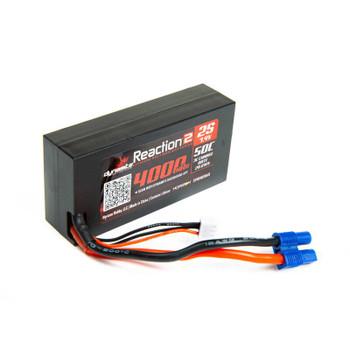 Dynamite Reaction 2.0 2S 50C Hard Case LiPo Battery w/EC5 (7.4V/4000mAh)