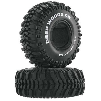 "DuraTrax Deep Woods CR 1.9"" Crawler Tires (2) (C3 - Super Soft) (DTXC4017)"