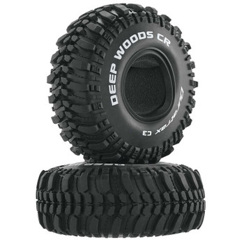 "DuraTrax Deep Woods CR 1.9"" Crawler Tires (2) (C3 - Super Soft) (DTXC4017)"