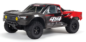 Arrma Senton 4x4 V3 550 Mega RTR 1/10 Short Course Truck (Red) w/Spektrum SLT3 2.4GHz Radio