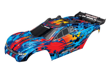 Traxxas Rustler 4X4 Pre-Painted Body (Red)