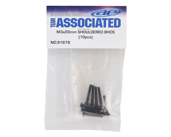 Team Associated 3x20mm Shouldered Button Head Screws (10) (ASC91678)