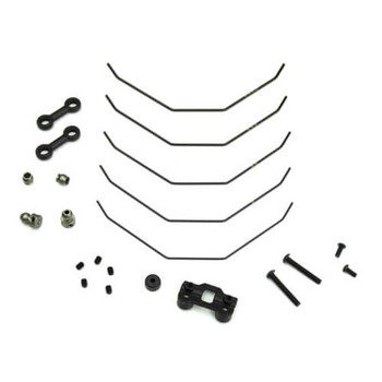 Tekno RC EB410/ET410 Front Sway Bar Set (1.0, 1.1, 1.2, 1.3, 1.4mm) (TKR6623)