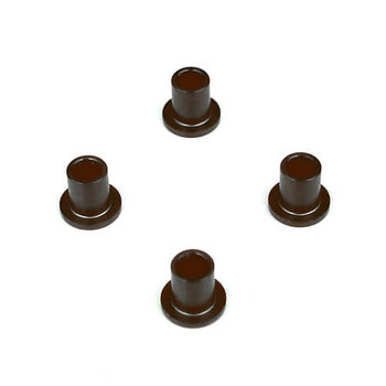 Tekno RC Aluminum Spindle Bushing (4) (Hard Anodized) (TKR5554A)