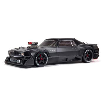 Arrma Felony 6S BLX Brushless 1/7 RTR Electric 4WD Street Bash Muscle Car (Black) w/DX3 2.4GHz Radio, Smart ESC & AVC