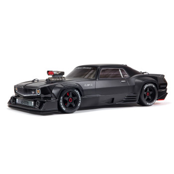 Arrma Felony 6S BLX Brushless 1/7 RTR Electric 4WD Street Bash Muscle Car (Black) w/DX3 2.4GHz Radio, Smart ESC & AVC