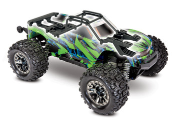 Traxxas Hoss 4X4 VXL 3S 4WD Brushless RTR Monster Truck available in green as well