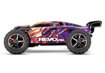 Traxxas E-Revo VXL 1/16 4WD Brushless RTR Truck (Purple) w/TQi 2.4GHz Radio, TSM, Battery & DC Charger
