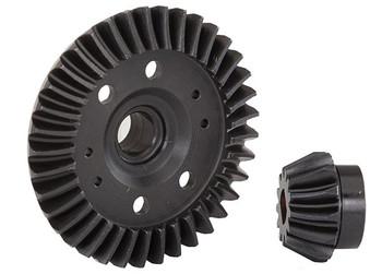 Traxxas Rear Machined Ring & Pinion Gear (Spiral Cut) (TRA6879R)