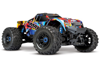 Traxxas Maxx 1/10 Scale 4WD Brushless Electric Monster Truck (4s) (Rock-N-Roll)