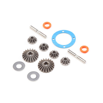 Losi Open Rear Differential Gear Set: Baja Rey, Rock Rey (LOS232051)