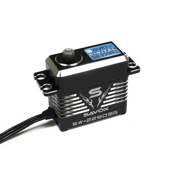 Savox Waterproof Monster Torque High Voltage, Brushless, Digital Servo Black Edition