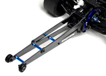 Exotek DR10 Adjustable Wheelie Bar Set (EXO1962)