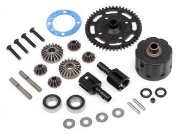 HB Racing Lightweight Center Differential Set (48T) (HBS109836)
