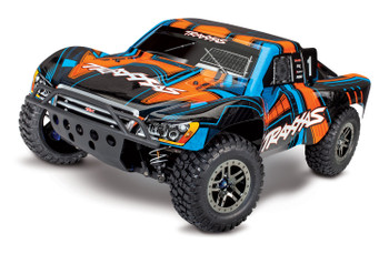 "Traxxas Slash 4X4 ""Ultimate"" RTR 4WD Short Course Truck (ORNG) w/TSM & TQi 2.4GHz Radio"