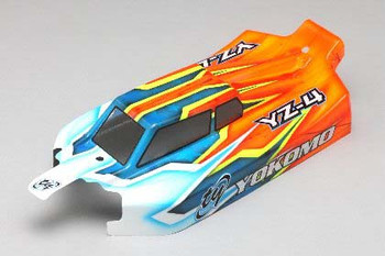Yokomo YZ-4 SF2 JConcepts Light Weight F2 Body (YOKS4-101LW2)
