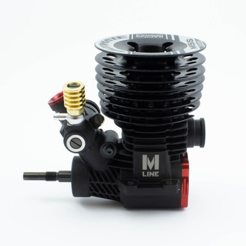 Ultimate Racing M5S 5-port .21 Ceramic Racing Engine & 2141 Pipe Combo