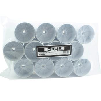 ProCircuit Vortex Wheels V2 (White In Bulk) (24PCS) (PCY2103-WB)