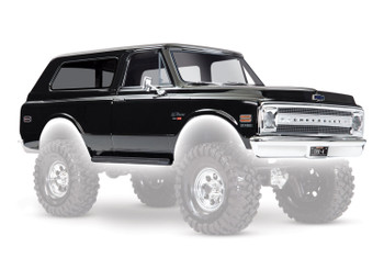 Traxxas Chevrolet Blazer 1969 Complete Body Set (Black)