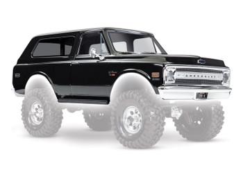 Traxxas Chevrolet Blazer 1969 Complete Body Set (Black)
