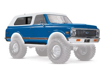 Traxxas Chevrolet Blazer 1972 Complete Body Set (Blue) (TRA9111X)