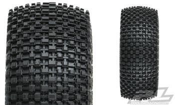 Pro-Line Gladiator SC Tires w/Raid Wheels (Black) (2) (Slash Rear) (M2) w/12mm Hex